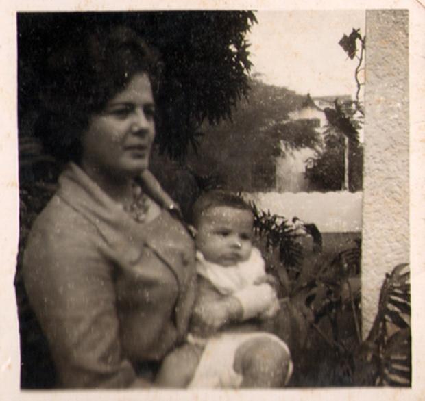 Foto de Ana Mae e Frederico Barbosa, em 1961.