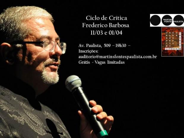 Ciclo de Crítica na Martins Fontes